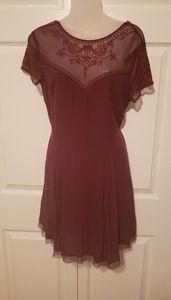 Red lace Francescas dress